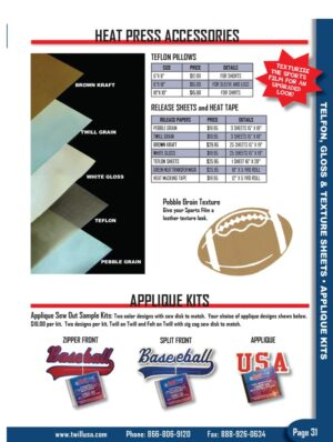 Image of Twill USA Product Catalog Page 31