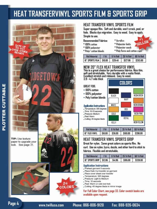 Image of Twill USA Product Catalog Page 4
