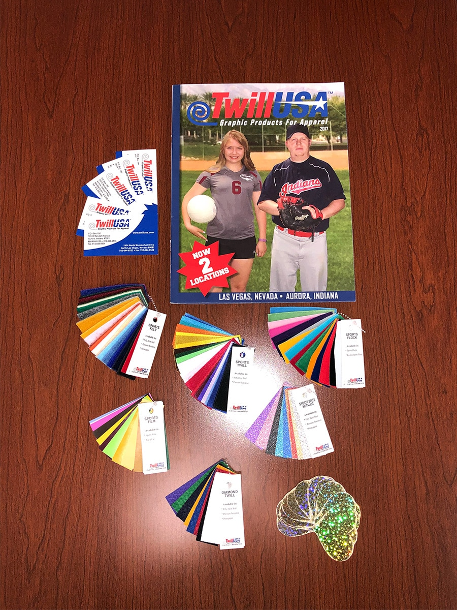 Image of Twill USA Swatch Kit