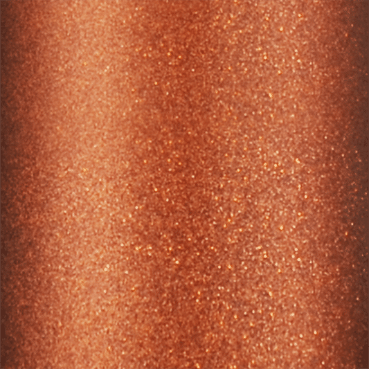 Image of Twill USA Copper HTV Glitter Roll CLOSEUP