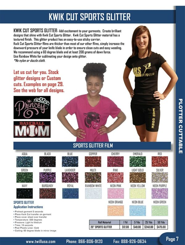 Image of Twill USA Product Catalog Page 7 2018 V2
