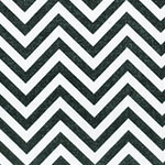Image of TwillUSA Black Chevron Fashion Fabric Color Square