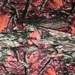 Image of TwillUSA Blazin Pink Camo Fashion Fabric Color Square