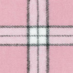 Image of TwillUSA Boxercraft Pink and Black Fashion Fabric Color Square