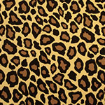 Image of Twill USA Leopard Fashion Fabric Color Square