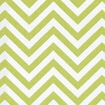 Image of Twill USA Lime Green Chevron Fashion Fabric Color Square