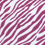 Image of TwillUSA Mini Zebra Pink and White Fashion Fabric Color Square