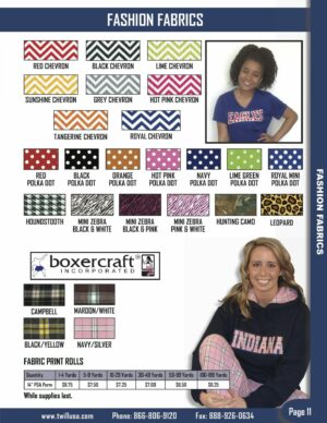 Image of TwillUSA Product Catalog Page 11