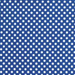 Image of TwillUSA Royal Mini Polka Dot Fashion Fabric Color Square
