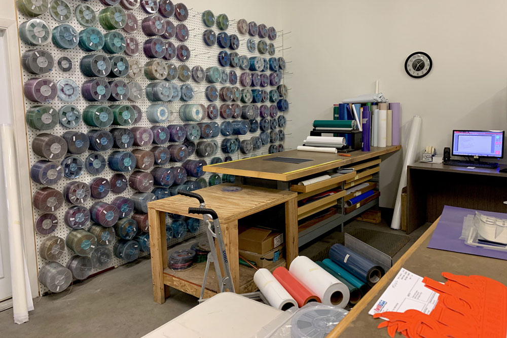 Image of TwillUSA's North Las Vegas Sequin Inventory