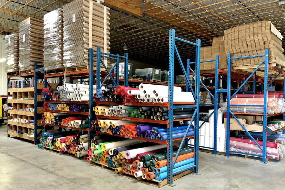 Image of TwillUSA's North Las Vegas Roll Goods Inventory
