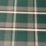 Image of Green Gray Plaid Fabric Color Square
