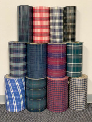 Image of TwillUSA Plaid Fabric Rolls