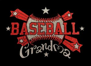 Image of Baseball Grandma HTV Glitter Design By TwillUSA