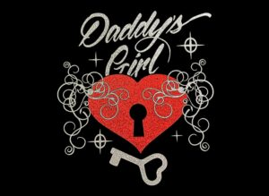 Image of Daddy's Girl HTV Glitter Design By TwillUSA