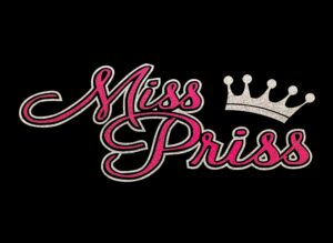 Image of Miss Priss HTV Glitter Design By TwillUSA