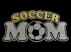 Image of Soccer Mom HTV Glitter Design By TwillUSA