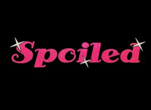 Image of Spoiled HTV Glitter Design By TwillUSA