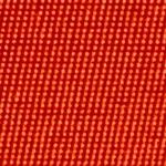 Image of Orange Sports Twill Color Square Closeup