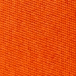 Image of Safety Orange Sports Twill Color Square Closeup