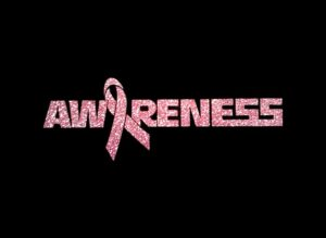 Image of Awareness PreCut HTV Glitter Design