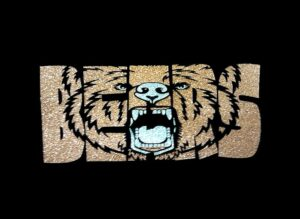 Image of Bears PreCut HTV Glitter Design