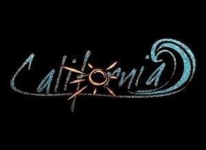 Image of California PreCut HTV Glitter Design