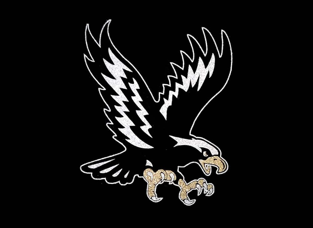 Image of Eagle Fly PreCut HTV Glitter Design