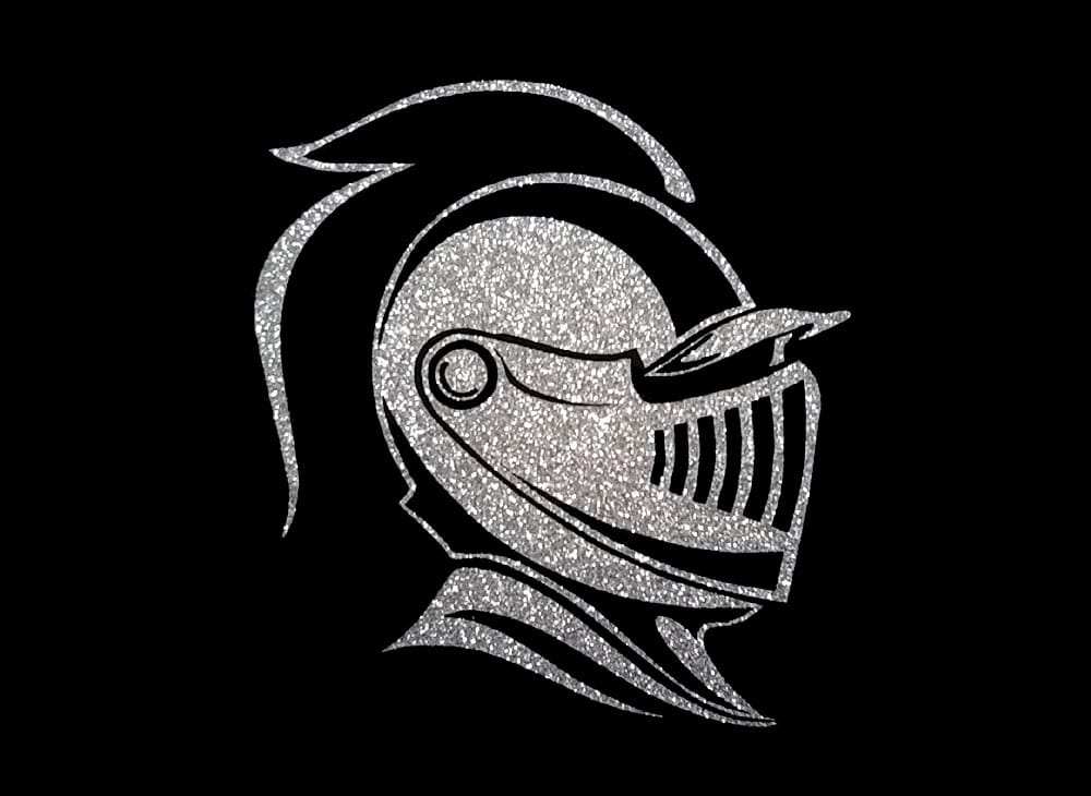 Image of Knight PreCut HTV Glitter Design