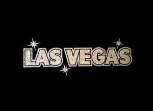 Image of Las Vegas PreCut HTV Glitter Design