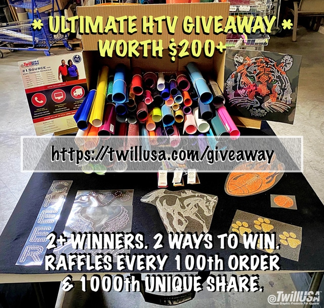 Image of Ultimate HTV Giveaway Bundle Thumbnail