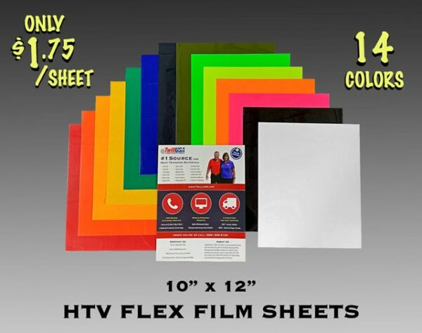 Image of HTV Flex Film Sheets