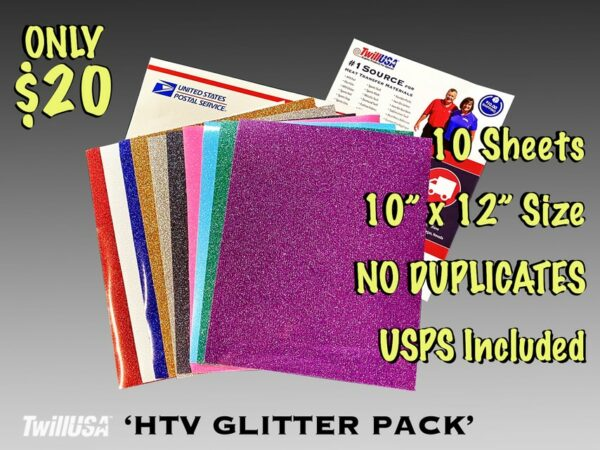 Image of HTV Glitter Pack