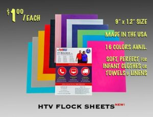 Image of HTV Flock Sheets (640px)
