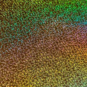 Image of Gold Holographic Confetti HTV Foil